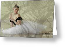 Prima Ballerina Greeting Card