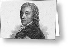 Prince Of Kaunitz-rietberg Greeting Card