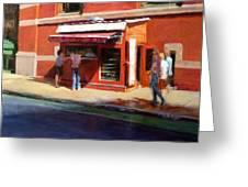 Prince Street Coffee Greeting Card