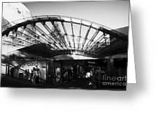 Princes Mall Princes Street Edinburgh Scotland Uk United Kingdom Greeting Card by Joe Fox