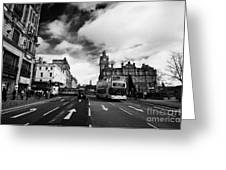 Princes Street Edinburgh Scotland Greeting Card by Joe Fox