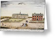 Princeton College, 1764 Greeting Card