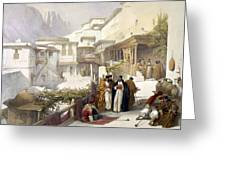 Principal Court Of The Convent Of St. Catherine Greeting Card