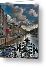Prinsengracht And Leidsestraat. Amsterdam Greeting Card