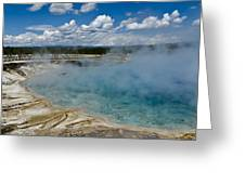 Prismatic Spring Yellowstone Greeting Card