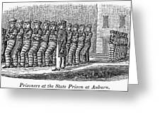 Prisoners, 1842 Greeting Card