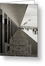 Promenade Des Planches Greeting Card