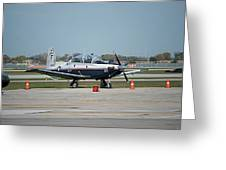 Propeller Plane Chicago Airplanes 10 Greeting Card
