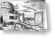 Properties Of Light, 1685 Greeting Card