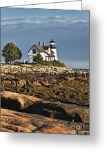 Prospect Harbor Lighthouse Greeting Card