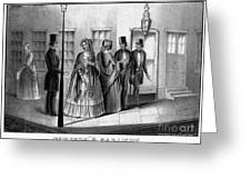 Prostitution, 1850 Greeting Card