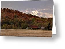 Protected By Hills Many Years Greeting Card