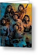 Proud Apache Scouts Greeting Card