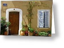 Provence Door 3 Greeting Card