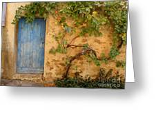 Provence Door 5 Greeting Card