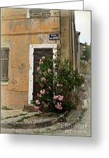 Provence Door Number 9 Greeting Card