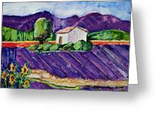 Provence Greeting Card by Regina Ammerman