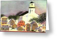 Provincetown Dusk Greeting Card