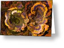Psychedelic Fungi Greeting Card
