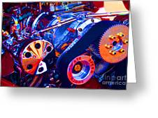 Psychodelic Supercharger-1 Greeting Card