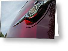 Pt Cruiser Emblem Greeting Card