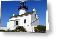 Pt. Loma Lighthouse Greeting Card