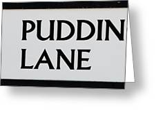 Pudding Lane Greeting Card