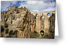 Puente Nuevo In Ronda Greeting Card