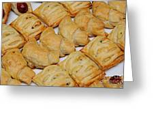 Puff Pastry Party Tray Greeting Card