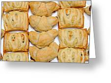 Puff Pastry Party Tray Pano Greeting Card