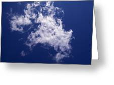 Pulled Cotton Clouds Greeting Card
