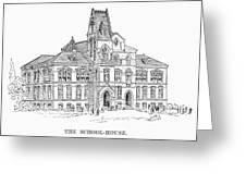 Pullman: Schoolhouse Greeting Card