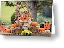Pumpkin Harvest 2012 Greeting Card