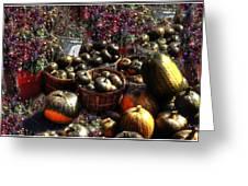 Pumpkin Impressions Greeting Card