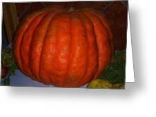 Pumpkin In Spain Greeting Card