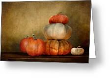 Pumpkins Greeting Card