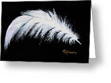Purity Greeting Card by Judy M Watts-Rohanna