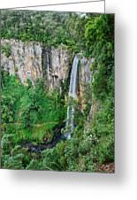 Purlingbrook Falls In Australia Greeting Card
