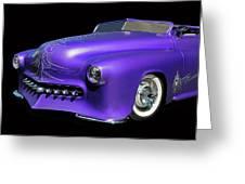 Purple Customized Greeting Card