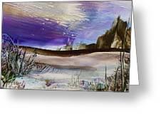 Purple Dreams Greeting Card