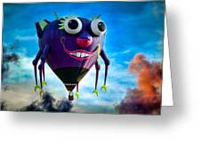 Purple People Eater Greeting Card