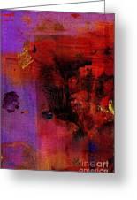 Purple Rain I Greeting Card
