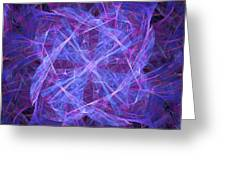 Purples Greeting Card