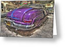 Purplre Car Dearborn Mi Greeting Card