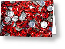 Push Chevys Buttons Greeting Card