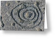 Pu'u Loa Petroglyphs Greeting Card