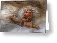 Puukko Troll Greeting Card