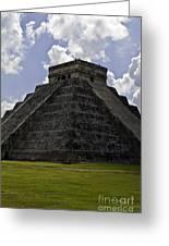 Pyramid  Of Kukulkan  Greeting Card
