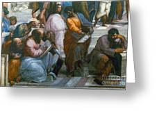 Pythagoras (569-475 B.c.) Greeting Card