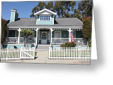 Quaint House Architecture - Benicia California - 5d18817 Greeting Card